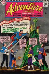 Adventure Comics (1938 series) #343, VG+ (Stock photo)