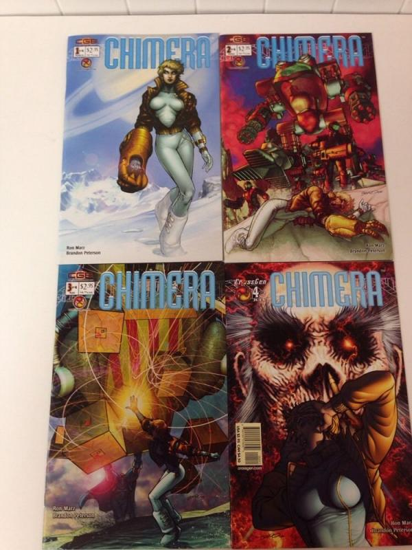 Chimera 1-4 Complete Near Mint Set Lot Run