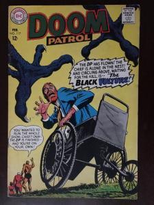 DOOM PATROL! #117 ELASTI-GIRL!! ROBOTMAN! BRIGHT VF- THE BLACK VULTURE