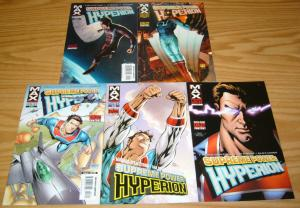 Supreme Power: Hyperion #1-5 VF/NM complete series J. MICHAEL STRACZYNSKI max