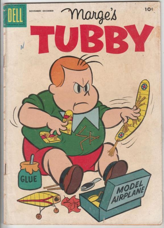 Marge's Tubby #19 (Nov-56) VG+ Mid-Grade Tubby