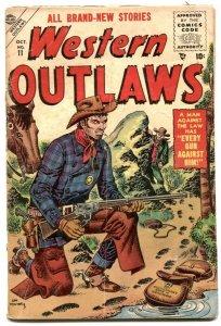 Western Outlaws #11 1955- Mort Drucker- Williamson G-
