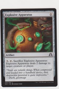Magic the Gathering: Shadows Over Innistrad - Explosive Apparatus