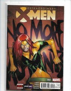 Extraordinary X-Men 2A Ramos Variant NM 2016    nw113