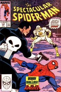 Spectacular Spider-Man (1976 series) #143, VF- (Stock photo)