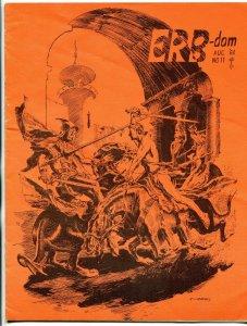 ERB-Dom fanzine #11 1964- Edgar Rice Burroughs- Tarzan f/vf