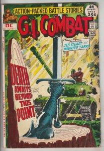 G.I. Combat #151 (Jan-72) VG+ Affordable-Grade The Haunted Tank, Capt.Storm, ...
