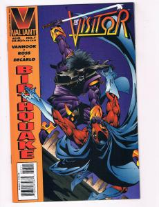 The Vistor #7 NM Valiant Comics Comic Book Vanhook Ross Aug DE28