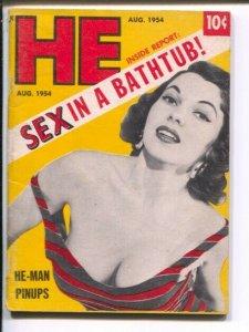 HE #12 8/1954-Bob Hope Lilly Christine-cheesecake-exploitation-Sophia Loren-VG
