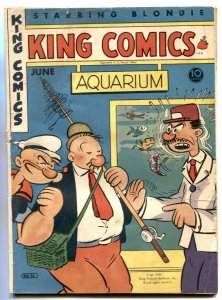 King Comics #98 1944- Flash Gordon- Popeye- Phantom G