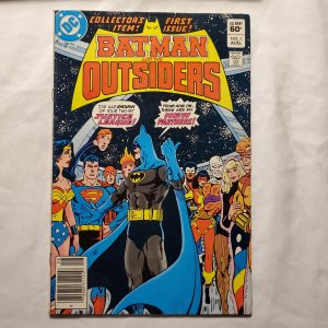 Batman and the Outsiders 1 Very Good-