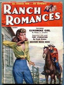 Ranch Romances December 1 1952- Western movies news-Frank Gruber