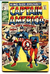 CAPTAIN AMERICA ANNUAL #14 comic book Jack Kirby-ORIGIN-1970