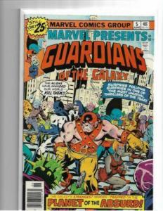 MARVEL PRESENTS #5 - NM- - GUARDIANS OF THE GALAXY - BRONZE AGE KEY