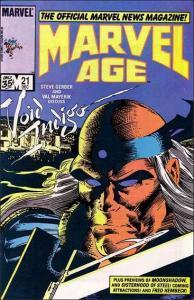 Marvel MARVEL AGE #21 VF