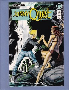 Jonny Quest #4 NM- Comico 1986