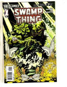8 DC Comics Swamp Thing New52 # 1 1st Print 81 + Tailgunner Jo # 1 2 3 4 5 6 JC7