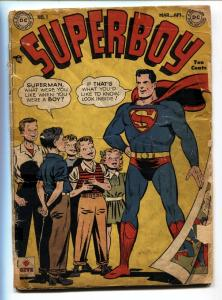 SUPERBOY #1 1949-DC-First issue-Golden Age-Bargain