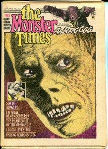 The Monster Times #40 Horror Newspaper 1975 Son Of Kong Fay Wray Phantom Opera