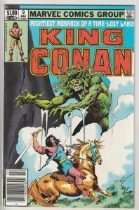 King Conan #9 (Mar-82) NM Super-High-Grade Conan the Barbarian
