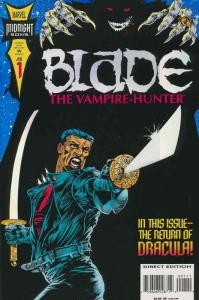 Blade: The Vampire-Hunter #1 VG; Marvel | low grade comic - save on shipping - d