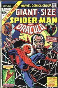 Giant-Size Spider-Man #1 (Jul-74) VG Affordable-Grade Spider-Man