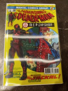 AMAZING SPIDER-MAN 129 & THE PUNISHER #287 LENTICULAR COVER