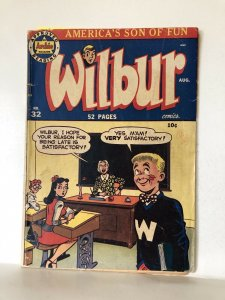 Wilbur #32 1950 Archie