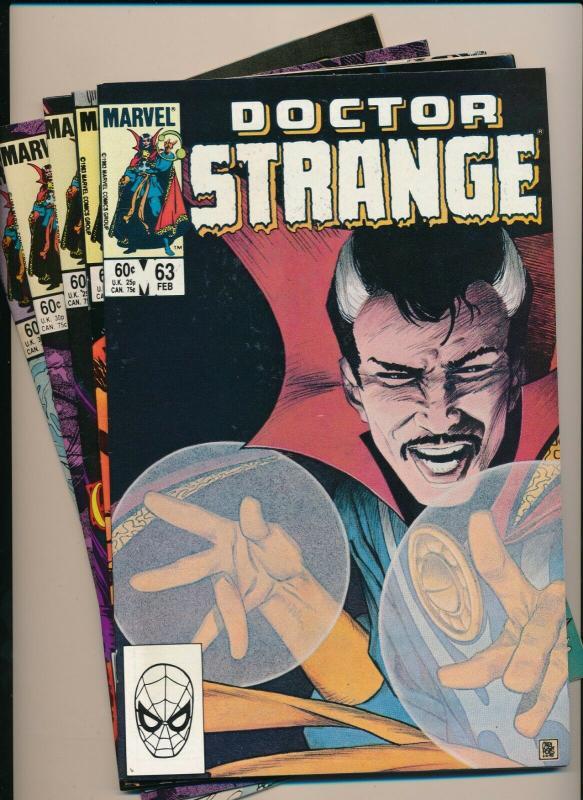 LOT of 5 Comics! Marvel DOCTOR STRANGE #63,64,65,66,69 F/VF (PF805)