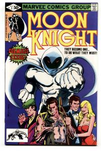 MOON KNIGHT #1 1st issue 1988-MARVEL COMICS-NM-