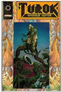 TUROK DINOSAUR HUNTER 1 VF-NM July 1993 (GOLD LOGO) COMICS BOOK
