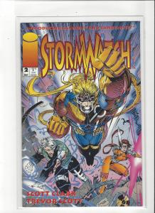 Stormwatch #2 Image Comics Jim Lee Story and Trevor Scott Art NM/M