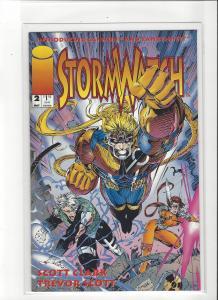 Stormwatch #2 Image Comics Jim Lee Story and Trevor Scott Art NM/M