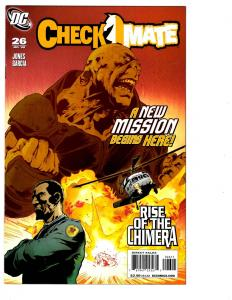 6 Checkmate DC Comic Books # 26 27 28 29 30 31 Amanda Waller Suicide Squad BH25