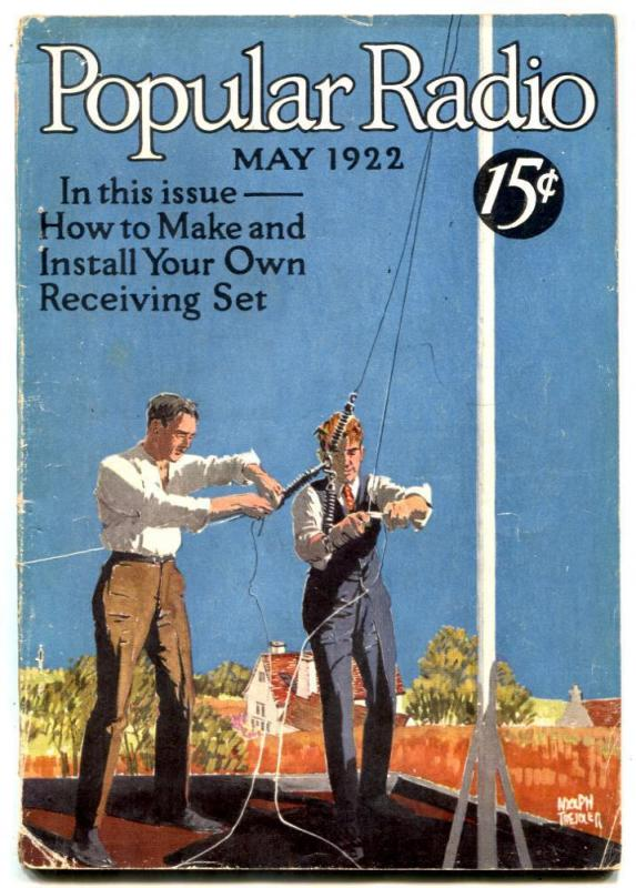 Popular Radio Magazine #1 May 1922-A Hyatt Verrill