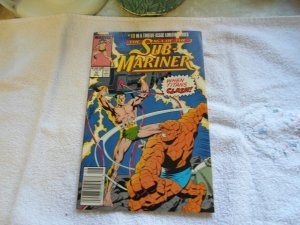 1989 THE SAGA OF THE SUB MARINER # 10