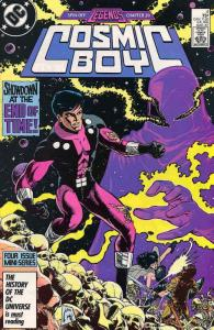 Cosmic Boy #4 VF; DC   save on shipping - details inside