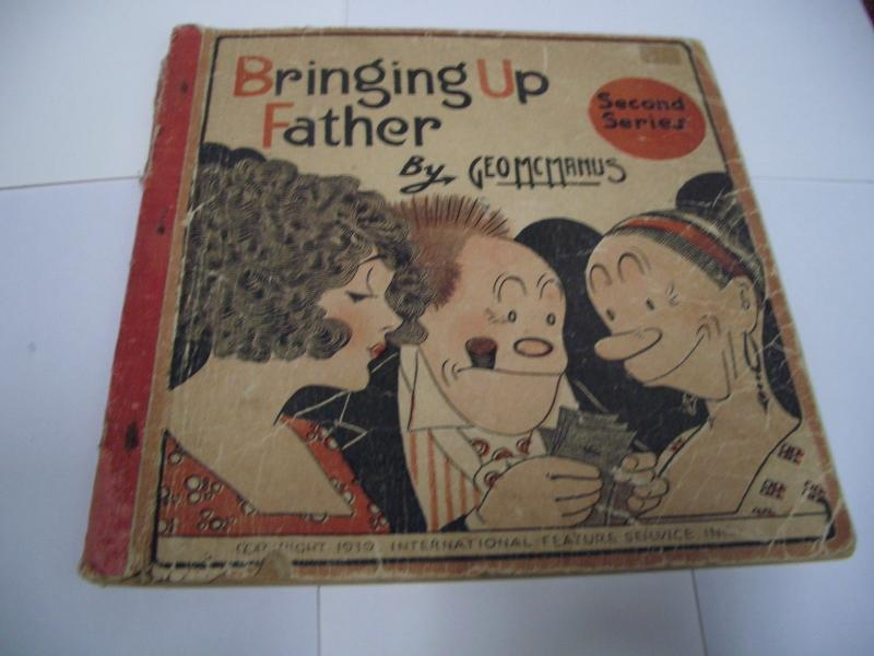 BRINGING UP FATHER 2ND SERIES GEO MCMANUS 1919 CUPPLES G