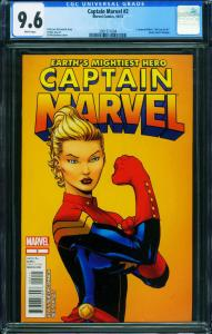 Captain Marvel #2 2012-First print CGC 9.6-Marvel- 2001511004