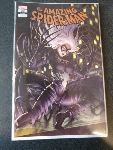 AMAZING SPIDER-MAN #23 WOO DAE SHIM BLACK CAT VENOMIZED COMICXPOSURE EXCLUSIVE