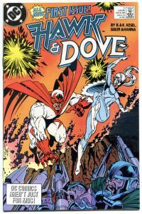 HAWK and DOVE #1, NM, Kesel, 1989, DC Comics, Scott Hana, Gauntlet