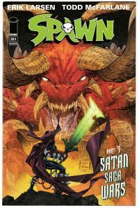 Spawn #261 Satan Saga Wars Pt 3 / Larsen & McFarlane Cvr (Image, 2016) NM