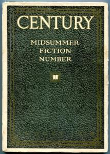 Century pulp August 1919- Willa Cather- rare