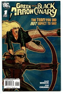 Green Arrow and Black Canary #1-2007-DC Comic book