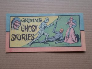 1976 WESTERN PUB CO. MINI COMIC GRIMM;S GHOST STORIES