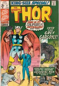 Thor, the Mighty King-Size Special #3 (Jan-71) VF- High-Grade Thor