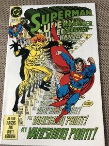 SUPERMAN #73 : DC 11/92 NM; Waverider storyline, Dan Jurgens