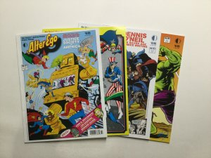 Alter Ego Volume 3 121-129 Lot Fanzine Magazine Near Mint TwoMarrows Publishing