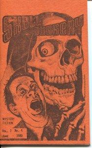 SKULL DUGGERY #4-1980-PULP MYSTERY & HORROR FANZINE-FINAL ISSUE-COOK PUBS