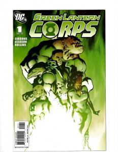 Lot of 12 Green Lantern Corps DC Comic Books #1 2 3 4 5 6 7 8 9 10 11 12 GK31